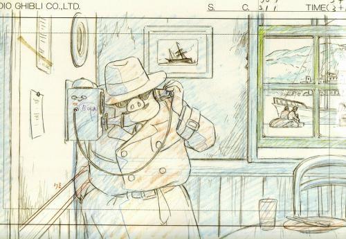 タルタルーガのドア スタジオジブリ アニメのキャラクターデザイン