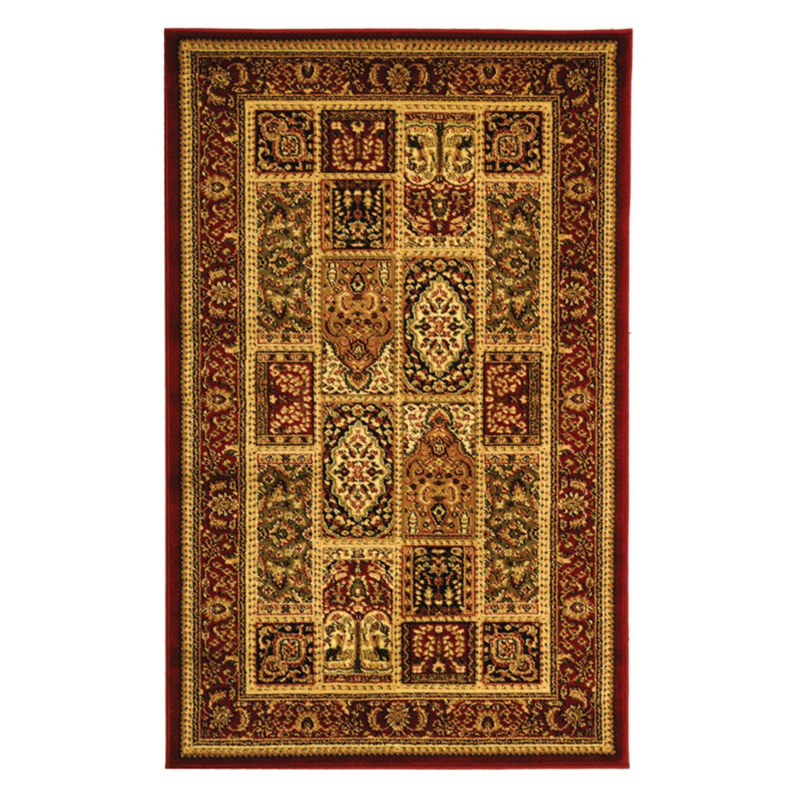 Safavieh Lyndhurst Lnh217b Area Rug Red Red Area Rugs Traditional Area Rugs Colorful Rugs