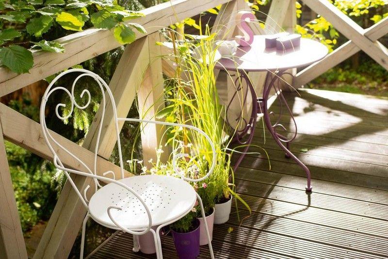 Balkonmöbel für kleinen Balkon \u2013 50 Ideen Möbel Pinterest 50th