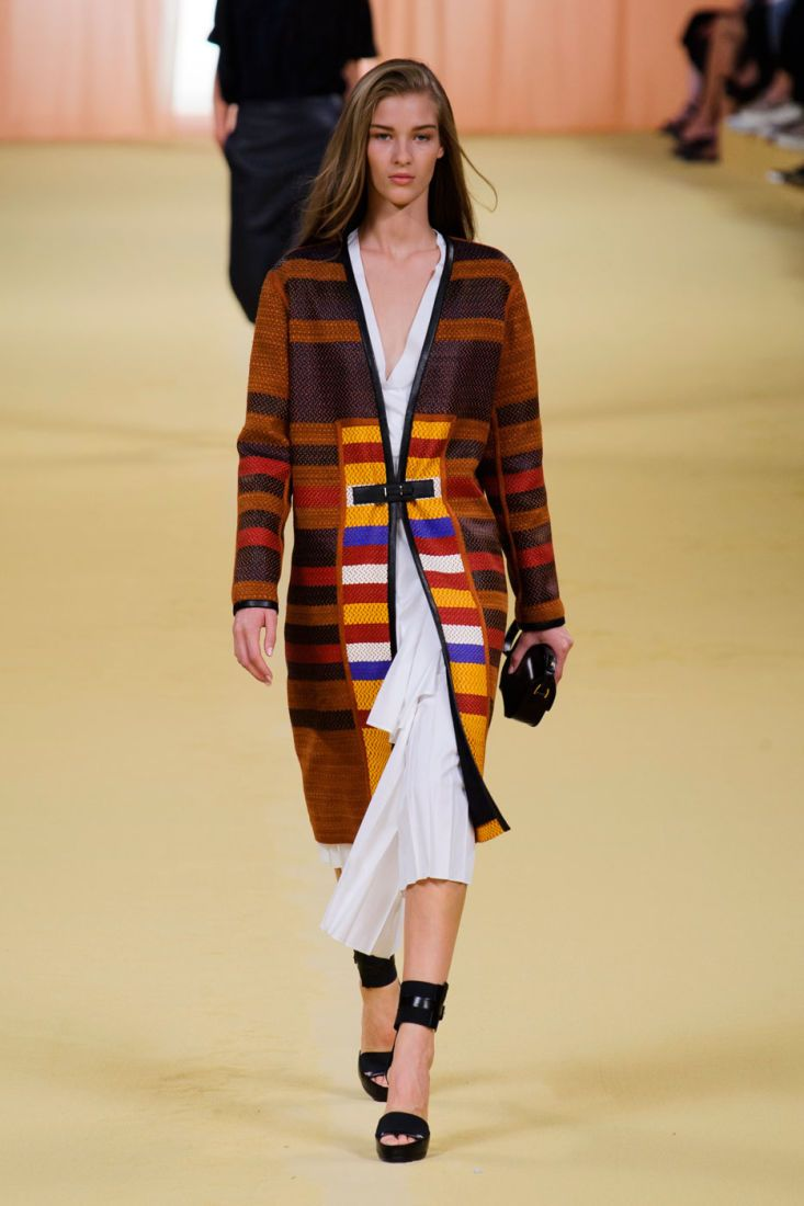 "<p tabindex=""-1"">A look from the Hermès spring 2015 collection. Photo: Imaxtree</p>"