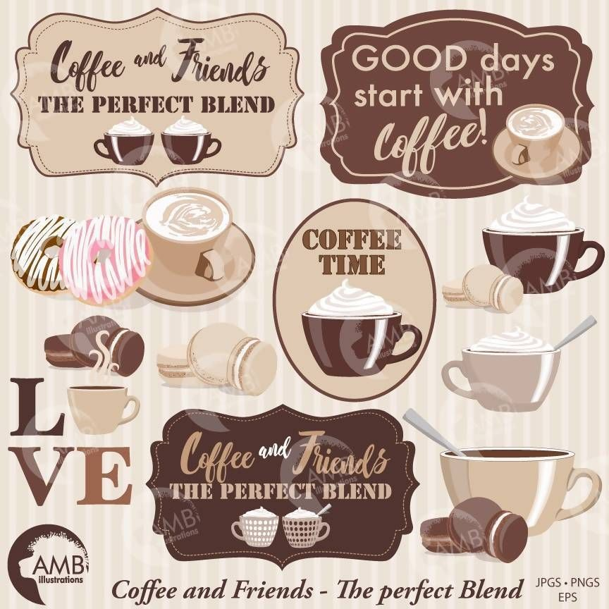 Coffee Clipart Coffee Time Clipart Coffee Frame Clipart Coffee