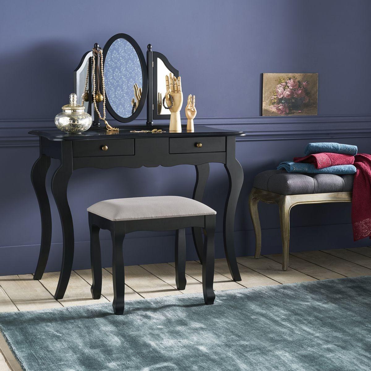 Coiffeuse Meubles Design Vintage Scandinaves Retro Mobilier De Salon Coiffeuse Dessins Muraux De Chambre