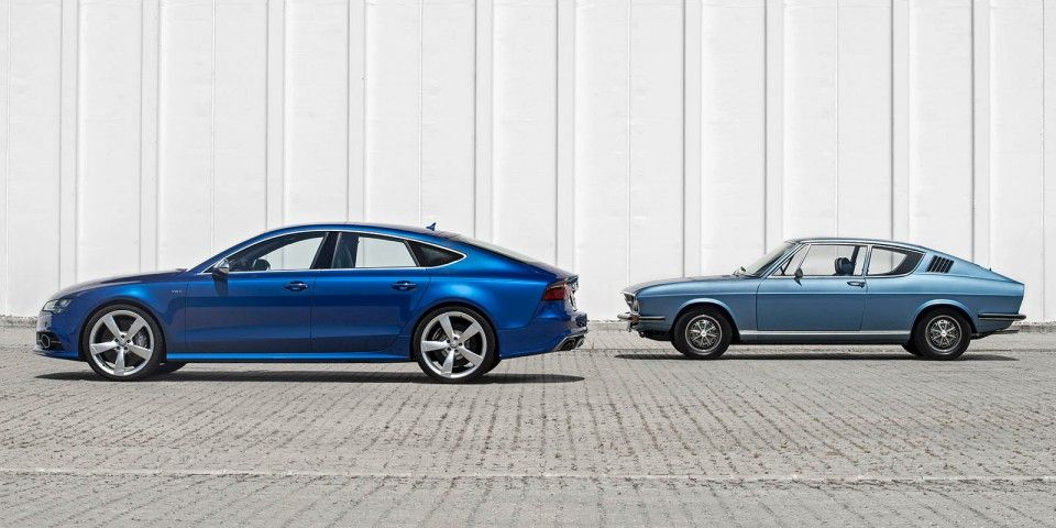 Visual Comparison New Audi S7 And The 100 S Coupe Coches
