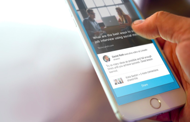 Linkedin Raises Its Game In Social Media With Elevate An App To