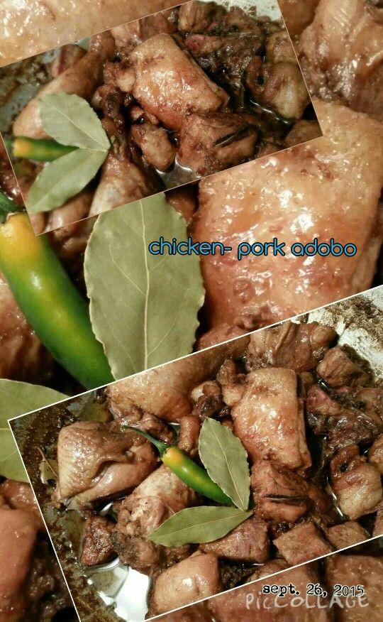 My chicken- pork adobo   Bon appetit! | Wok with muah