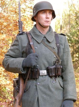 German army overcoat