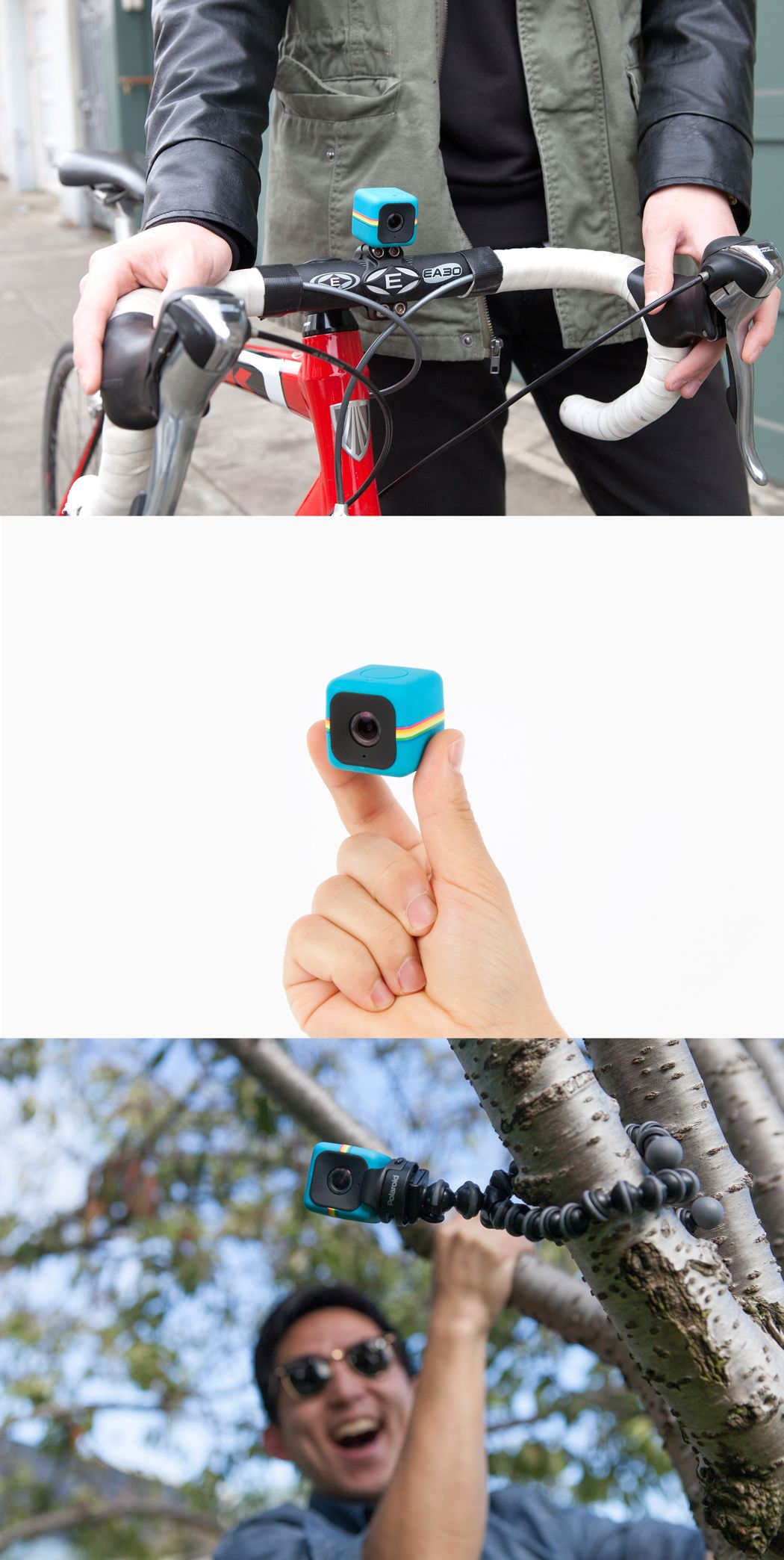 This tiny action cam will take tons of photos and HD vids, but it won't take much space in your stocking! ($99.99)