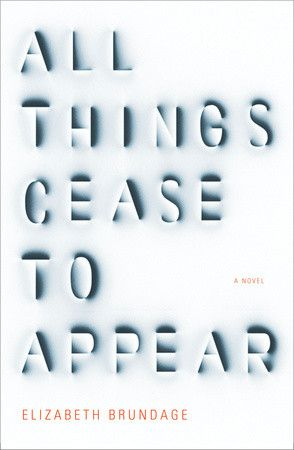 Book Cover Reviews: All Things Cease to Appear