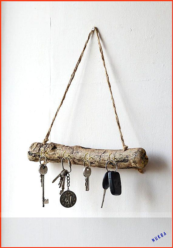 Photo of Driftwood Key Hanger – Driftwood Key Rack – organizer voor drijfhout sieraden – Dr …, #Driftwo …