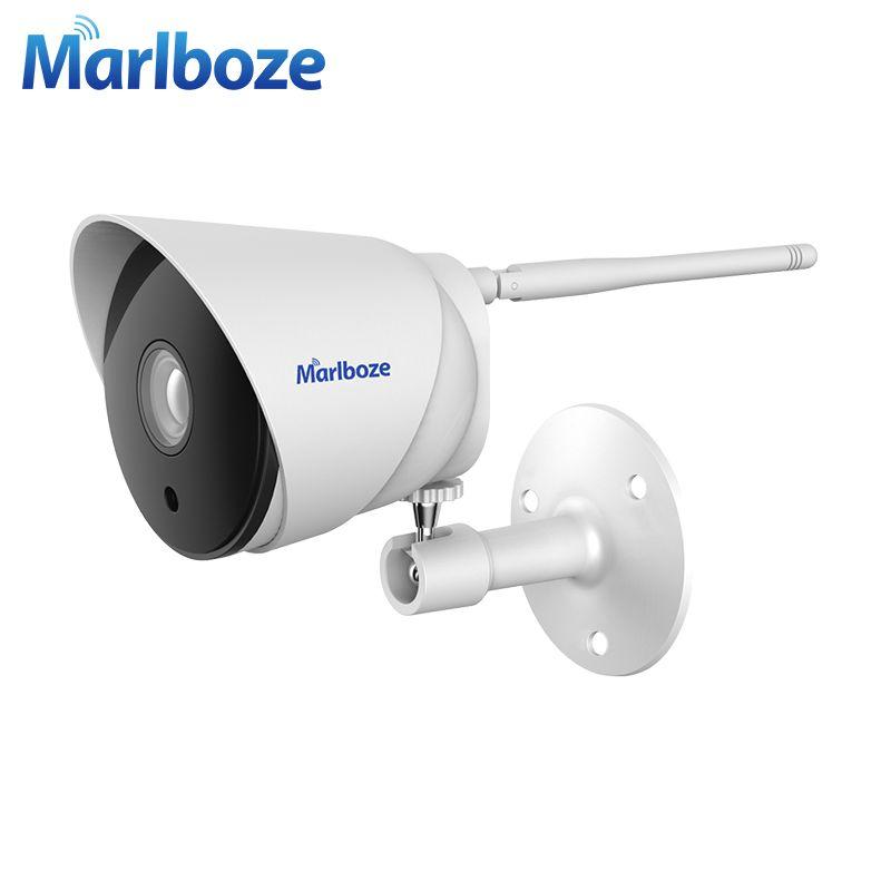 Marlboze Outdoor Waterproof 720P HD WIFI IP Camera IR Night
