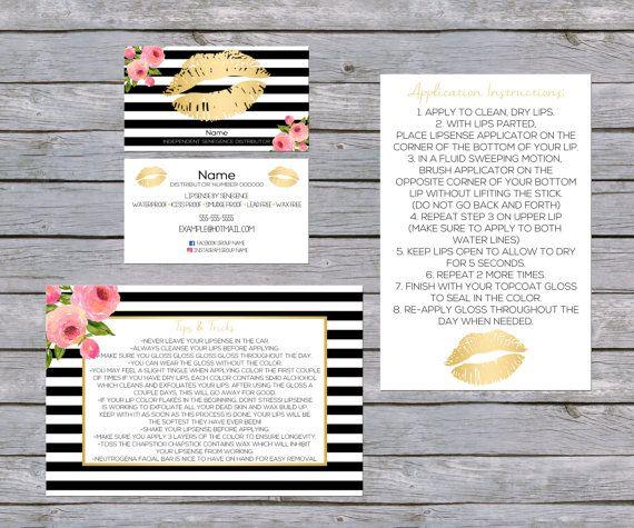 Pin by Courtney Baker on Lipsense Lipsense business cards