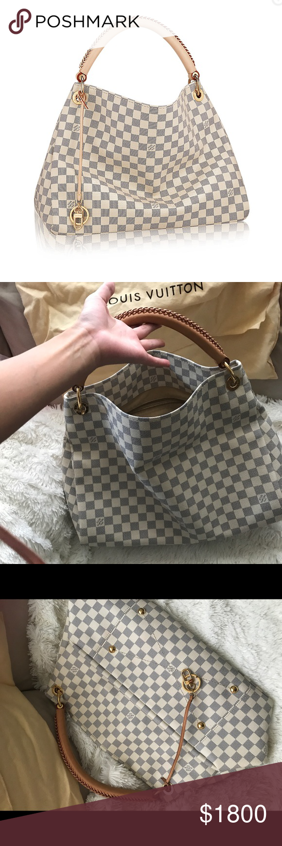 23f97fb44f1 100% authentic Louis Vuitton Artsy Azur 100% authentic artsy MM purse.  Purchased directly