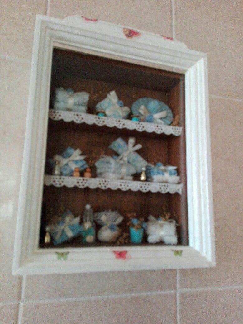 Miniaturas para el baño realizadas con pasta de harina