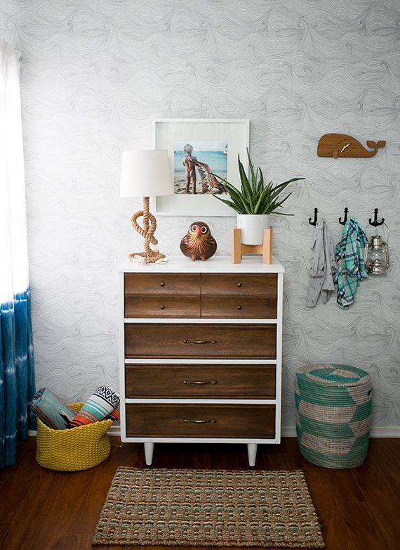 surf style bedroom inspiration painted peices boys surf room rh pinterest com  surfer style bedroom