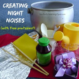 Creating night noises virtual book club for kids everyday objects creating night noises virtual book club for kids publicscrutiny Image collections