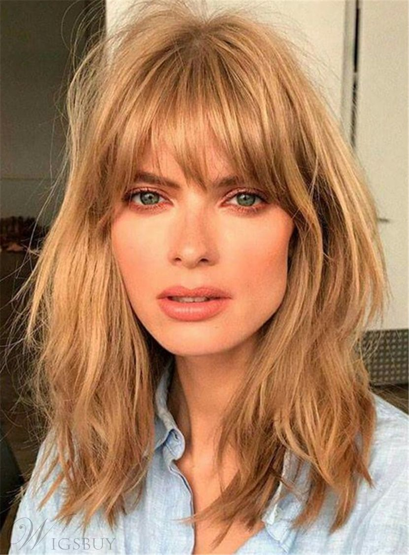 Subtle Casual Hairstyles For Spring 2019 Messy Bangs Fashion Style