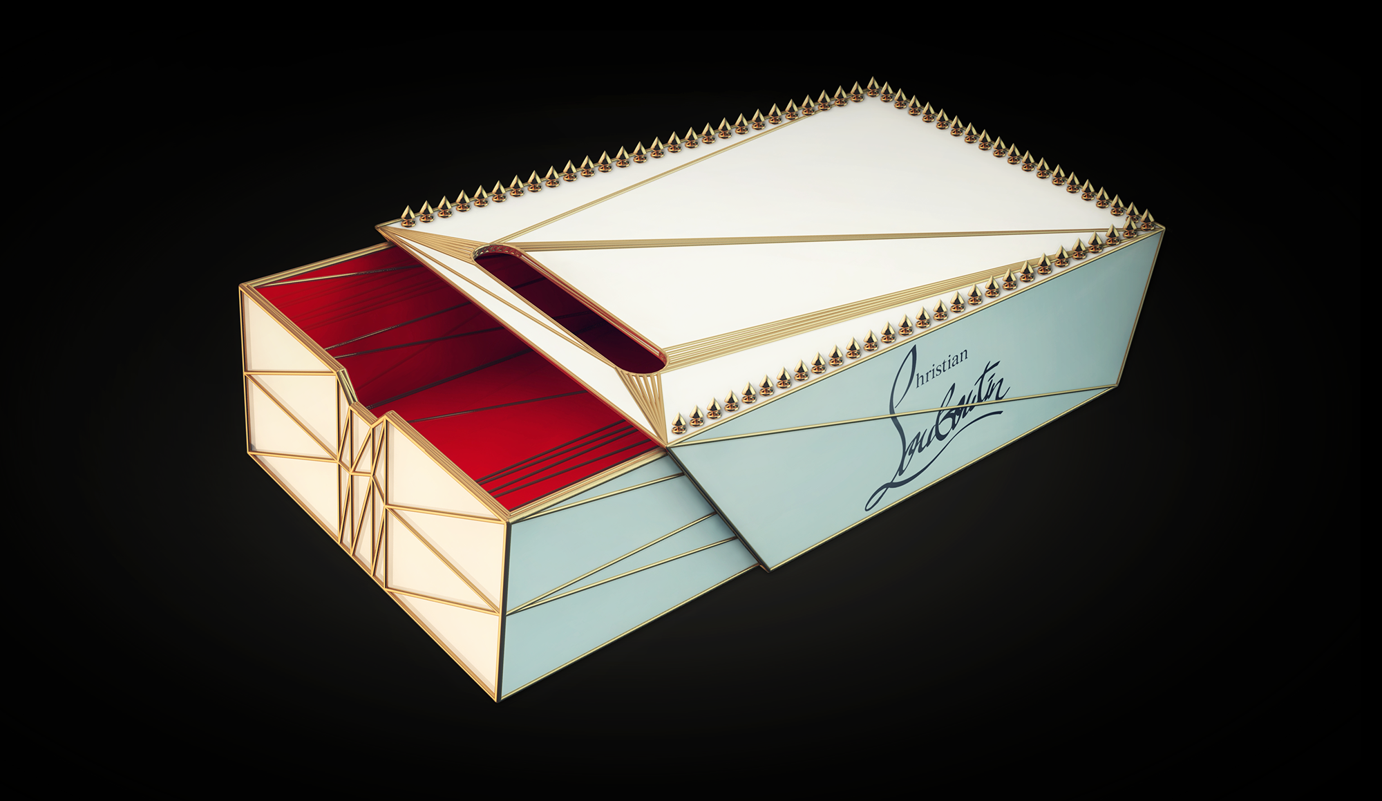 "Concept Christian Louboutin ""Matchbox"" shoe packaging by Chris"