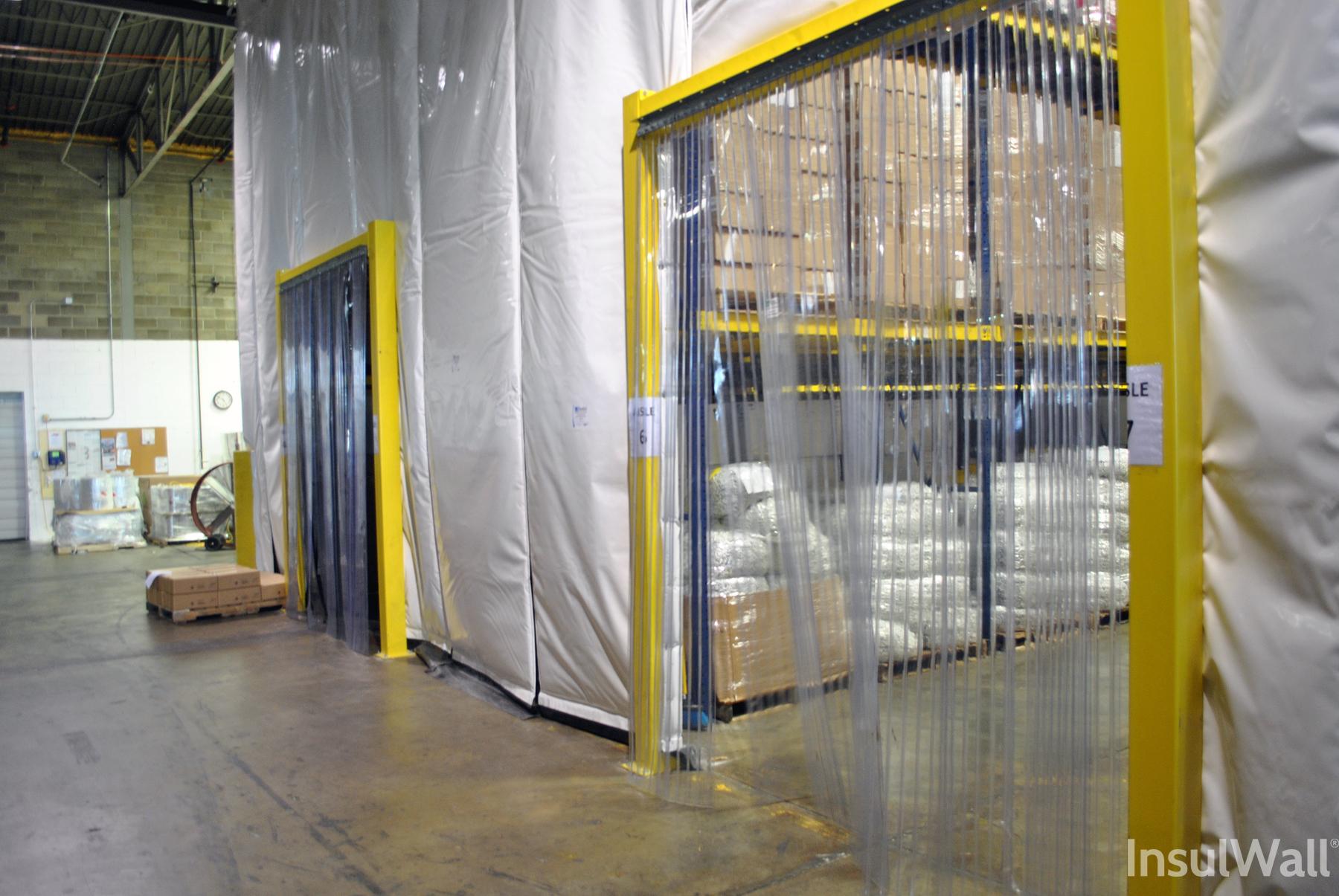 insulated warehouse curtain wall strip