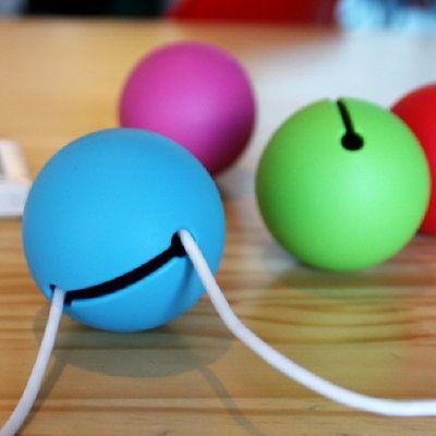 케이블 픽스 Great Balls Of Wire Cable Organizer 핑크 케이블 색상