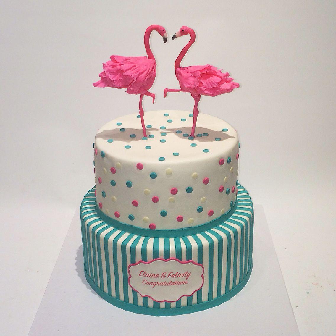 Flamingo love torten pinterest kuchen ideen for Pinterest kuchen