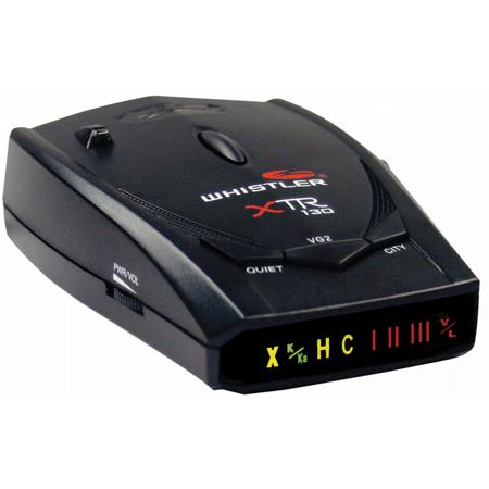 Whistler XTR130 Radar/Laser Detector with SuperBright