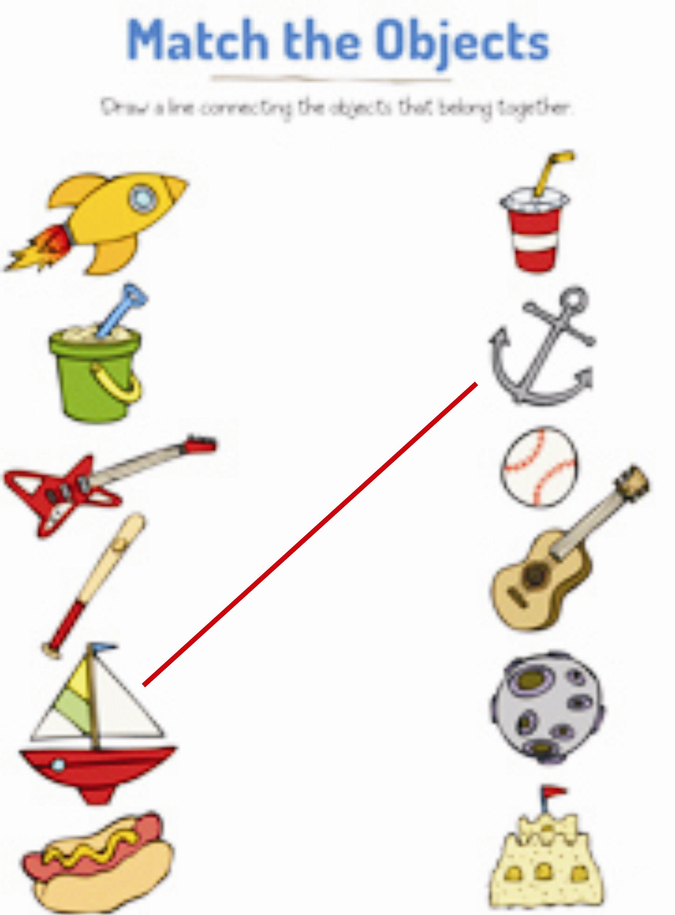 Matching Pairs Activities for Children Preschool