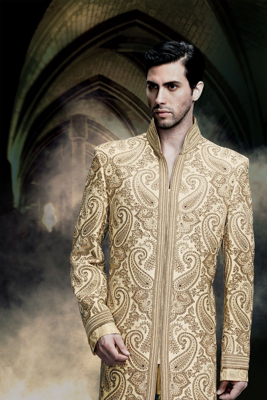 Thought differently, Asian wedding clothes for men assured, what