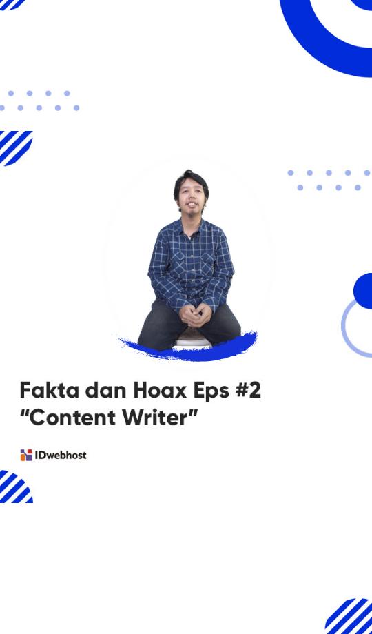 Fakta Dan Hoax Content Writer Di 2020 Membaca Blog Tulisan