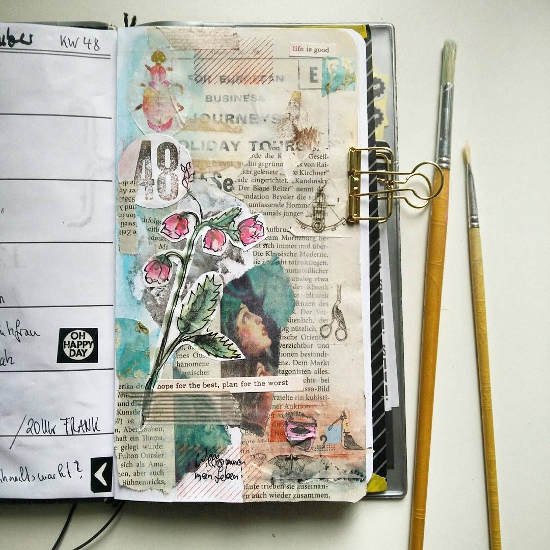 One more week in my TN / do you like artjournaling too?