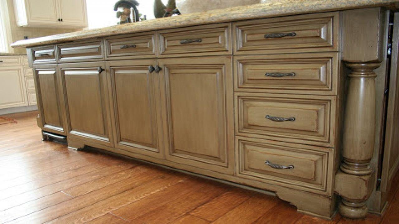 Kitchen Cabinet Stain Colors Finishes Paint Glaze Glazed ...