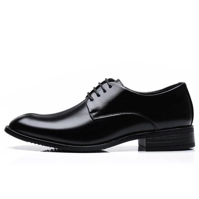 f53812f1a67c Men's Classic Derby Dress Leather Shoes   NarvayStuff   Leather ...