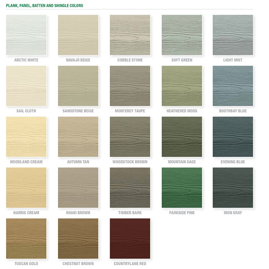 Shop james hardie prime cedarmill fiber cement lap siding for Allura siding vs hardie siding
