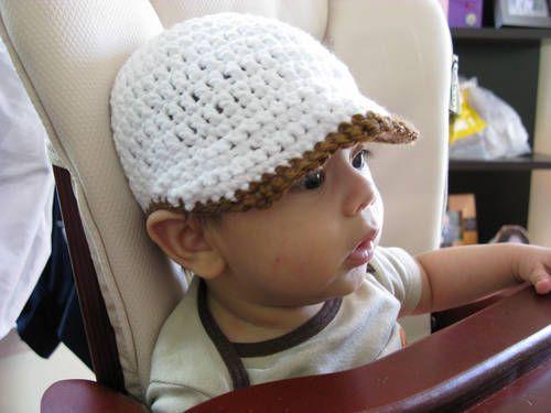 Free Crochet Baby Hat Patterns | Free Adult size Crochet Newsboy Hat ...