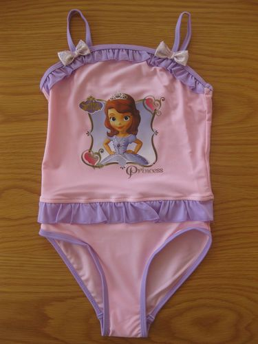 Disney Sofia The First Swimming Costume Swimsuit Swimwear Beachwear