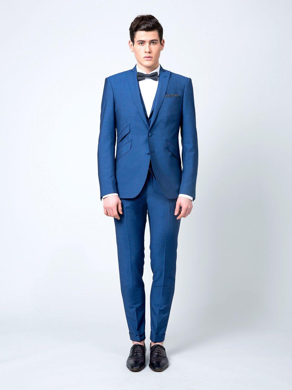 tendances pour le mari costume bleu roi samson noeud papillon costume mari pinterest. Black Bedroom Furniture Sets. Home Design Ideas