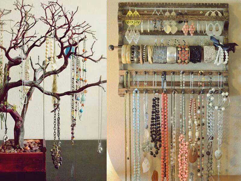 Ideas para guardar tus joyas y accesorios es f cil y econ mico zaycha interesante - Accesorios para casa ...