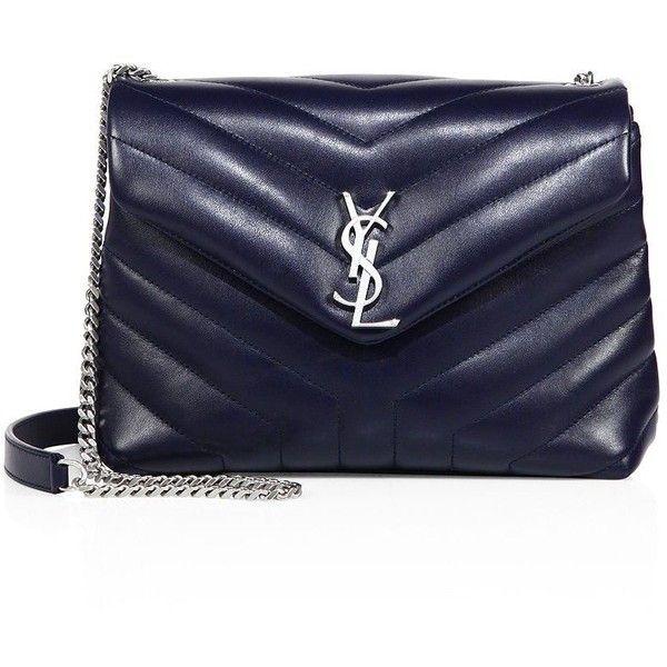 Saint Laurent Small Lou Lou Leather Chain Shoulder Bag