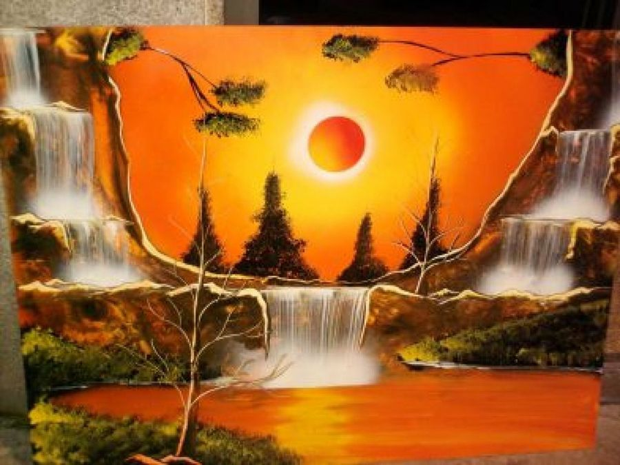 Paisajes para pintar cuadros en widescreen 2 hd wallpapers - Ideas para pintar cuadros ...