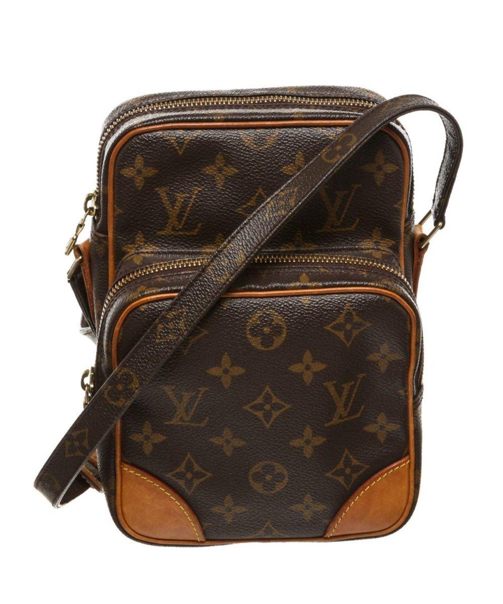 e0a492d8d LOUIS VUITTON Pre Owned - Louis Vuitton Monogram Canvas Leather Amazon  Crossbody Bag'. #louisvuitton #bags #shoulder bags #leather #canvas  #crossbody ...