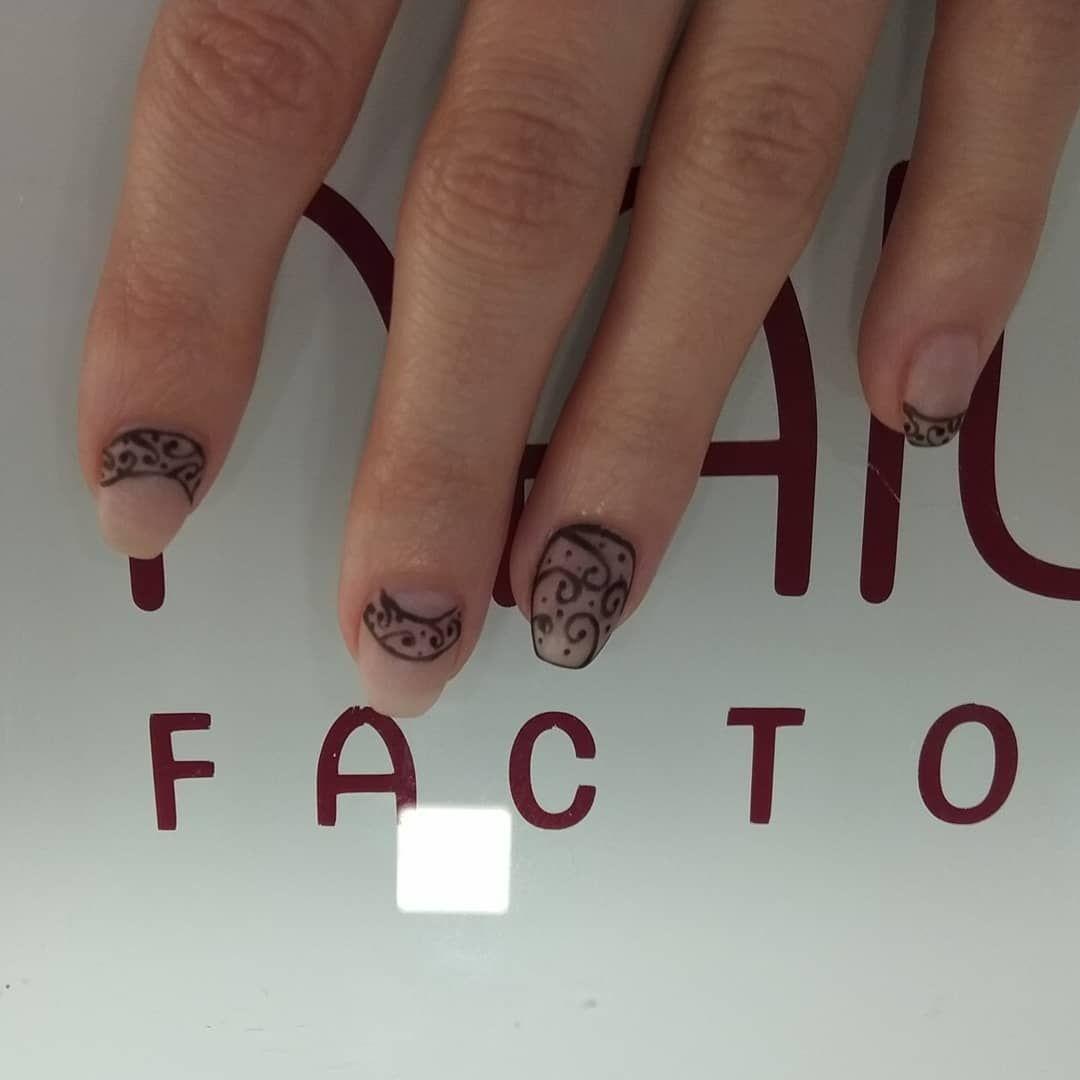 Uñas Tatuaje Menudo Nivel Nailart Nails Nails2inspire