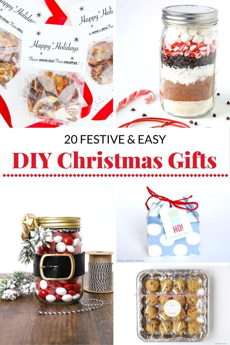 Christmas gift ideas diy easy bake
