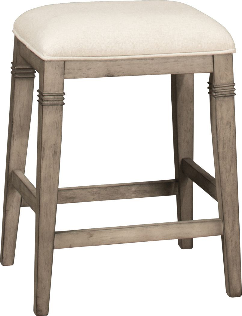 Aylwin Linen Counter Height Stool In 2020 Counter Height Stools Counter Stools Backless Upholstered Seating