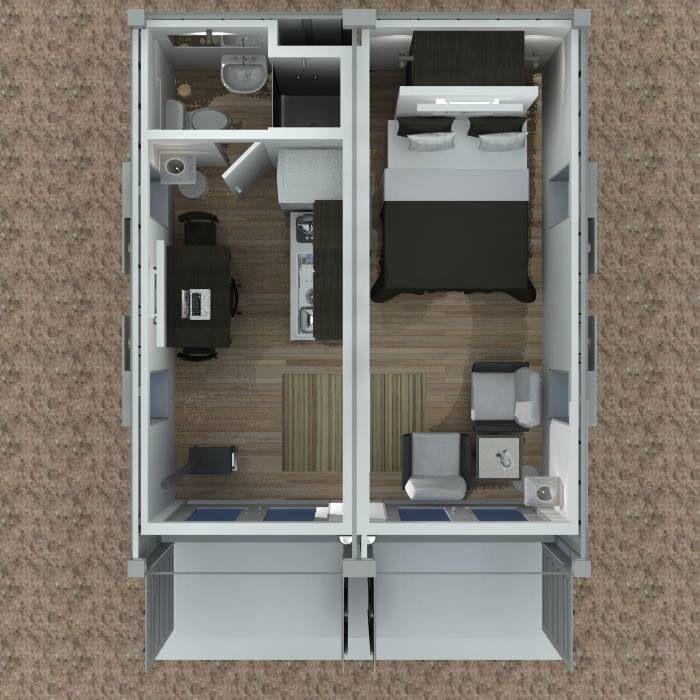 Conteiner dise o loft casas de contenedores maritimos - Contenedores casas prefabricadas ...