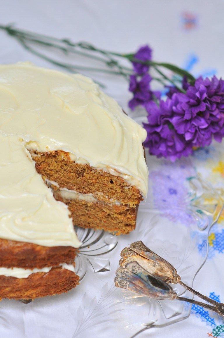Carrot cake with cream cheese frosting kiku corner