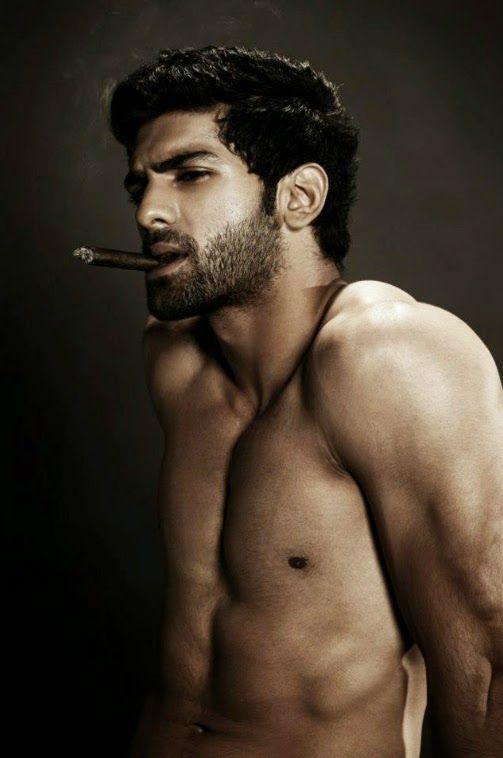 Cigar smoking hunks