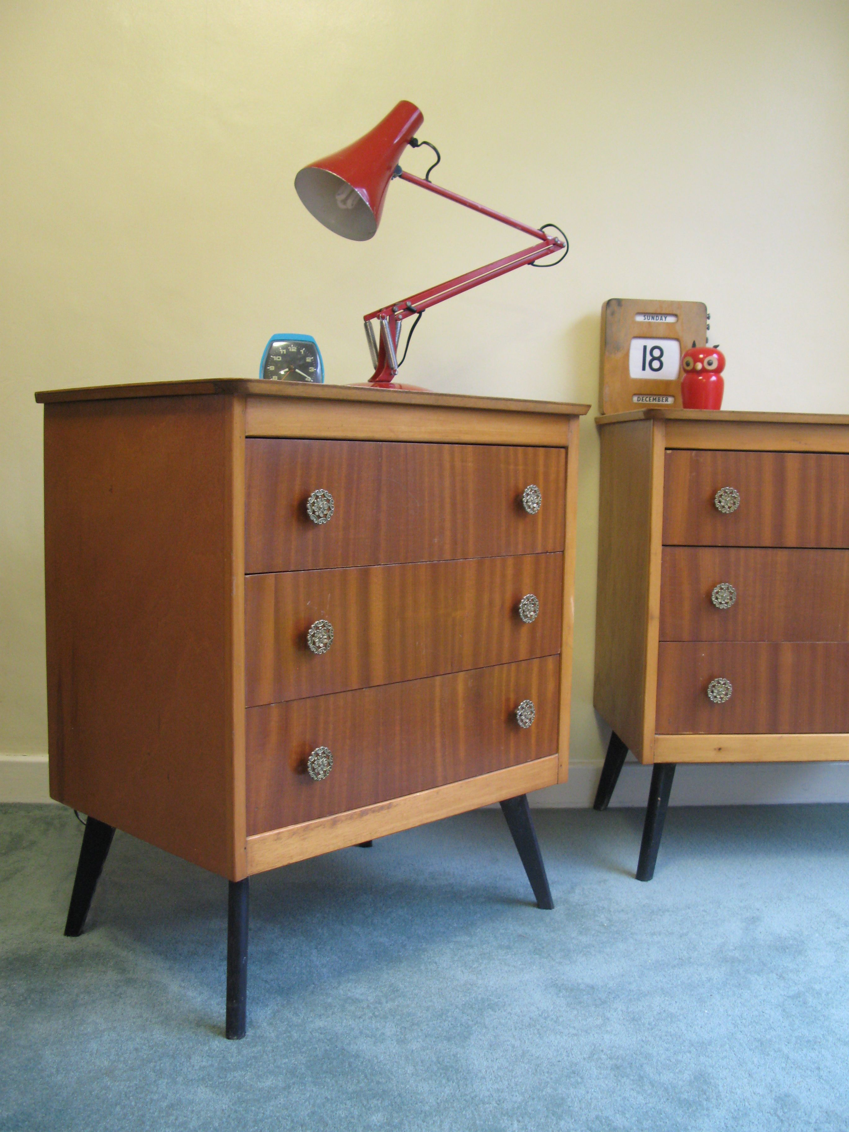 Retro 1950s Great Idea For An Ikea Rast Hack Chest Of Drawers Pinterest