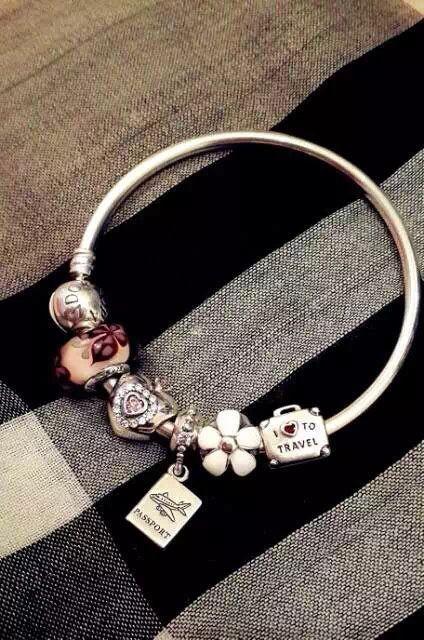 159 pandora charm bracelet hot sale