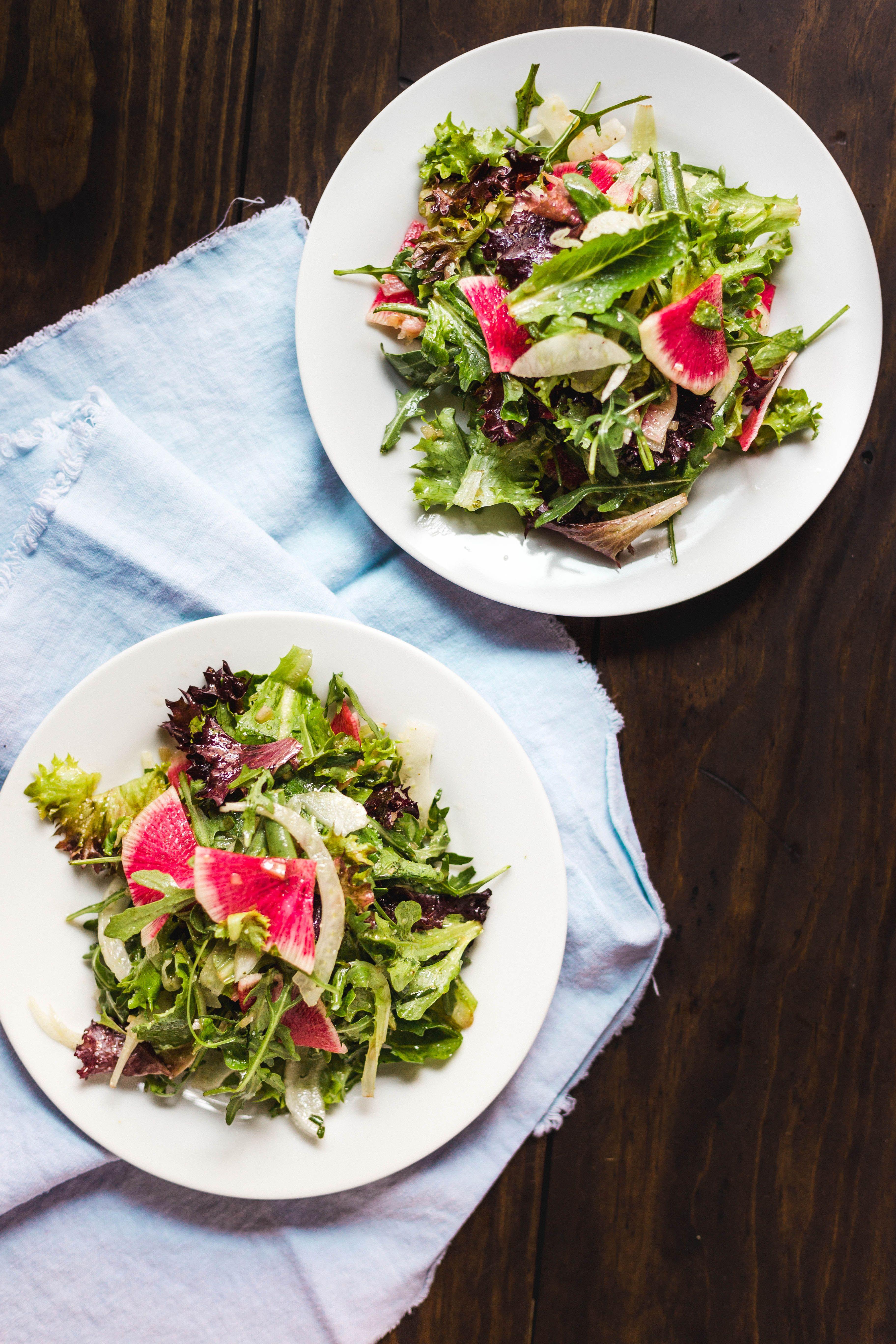 colorful salads Salad inspiration, Greens restaurant
