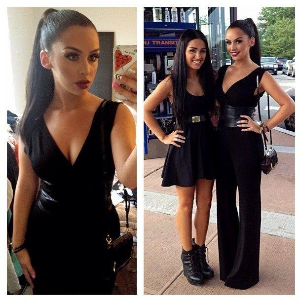 d782cc23833b carli bybel black dress - Google Search