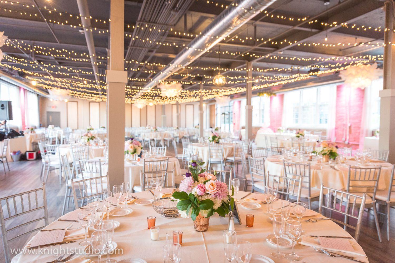 The Foundry Buffalo wedding, Hotel reception